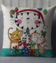 Square-18-Cotton-Linen-Cute-Girl-and-Cartoon-Cats-Printed-Sofa-Throw-Pillow-Cushions-No-Filling-2.jpg
