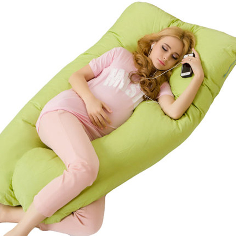 U Shape Pregnancy Pillow For Full Body Support